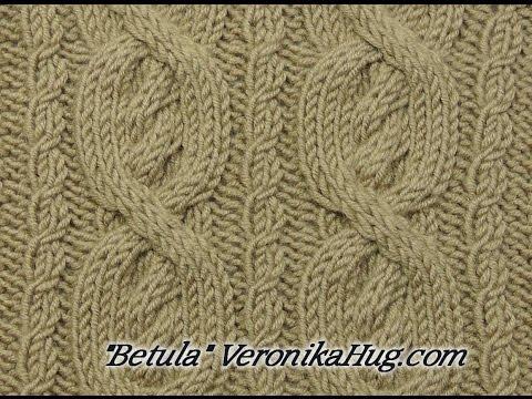 Stricken - Zopfmuster Betula - Veronika Hug