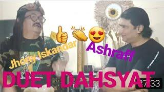 Jonny Iskandar dan Ashraff duet lagu secangkir kopi😍😍