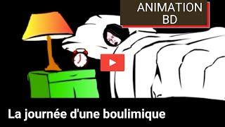 La journée d'une boulimique (animation)