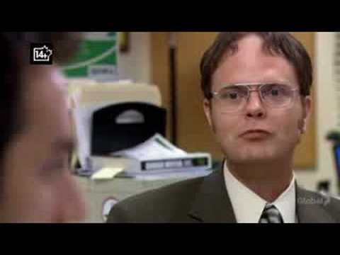 Dwight Quizes Ryan