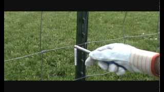 Agriculture T-post Fence Clip Tool ( Clip Bender ) .