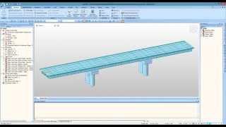 Steel Composite Girder Bridge Wizard