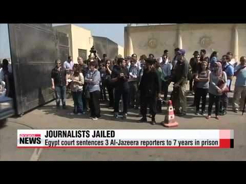 Int'l outrage erupts over Egypt's ruling of Al-Jazeera journalists
