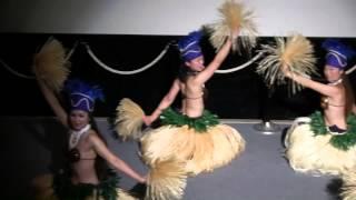 タヒチアンダンス HERE MOANA NUI 種子島宇宙センター宇宙科学技術館での踊り thumbnail