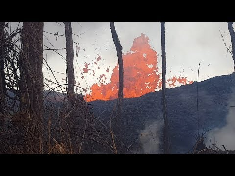 Kilauea was 'like a disaster movie,' CNY volcanologist says (video)