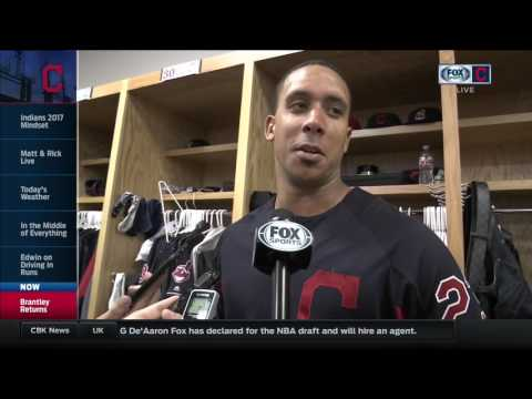 Dr. Smooth, Michael Brantley is healthy and back in Cleveland Indians' lineup