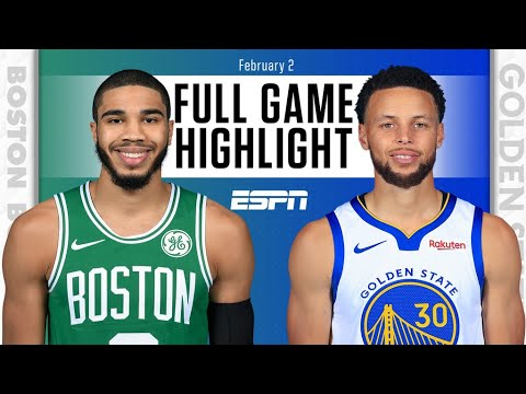 Boston Celtics Vs Golden State Warriors Full Game Highlights Nba On Espn Youtube