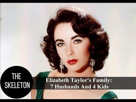 Elizabeth Taylor's Family: 7 Husbands And 4 Kids
