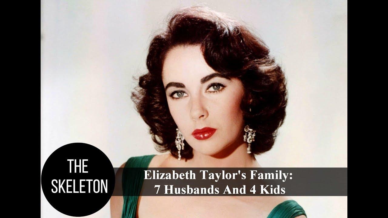 Elizabeth Taylor S Family 7 Husbands And 4 Kids