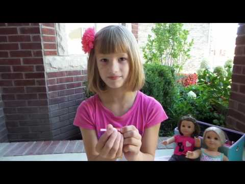 Sophie Unboxing American Girl Healthy Smile Set
