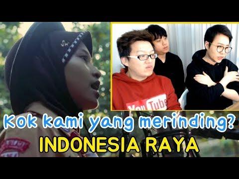"""ORANG KOREA MENDENGAR """"INDONESIA RAYA"""" Feat. ORANG INDONESIA"""