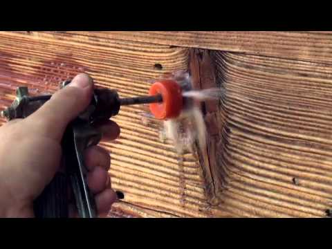 sp cibois sablage a rogommage hydrogommage traitement du bois r novation youtube. Black Bedroom Furniture Sets. Home Design Ideas