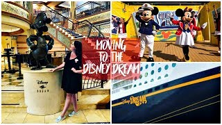 Weekly Vlog August 2018 | Moving to a Disney Cruise Ship