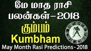 Kumbha Rasi (Aquarius) May Month Predictions 2018 – Rasi Palangal