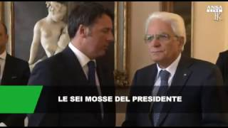 Le sei possibili mosse di Mattarella dopo le dimissioni di Renzi