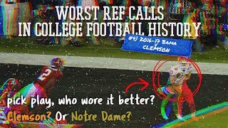That Time Notre Dame Helped Clemson Win A National Championship -  College Football Nerds