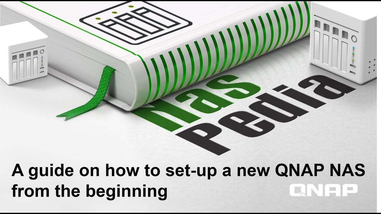 Set-up a QNAP NAS from the beginning  NASpedia