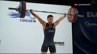2016 Olympic Weightlifting , Men 56 kg - European Championships \ Тяжелая Атлетика