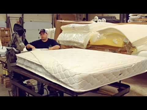 Portland Mattress Makers How It S Made