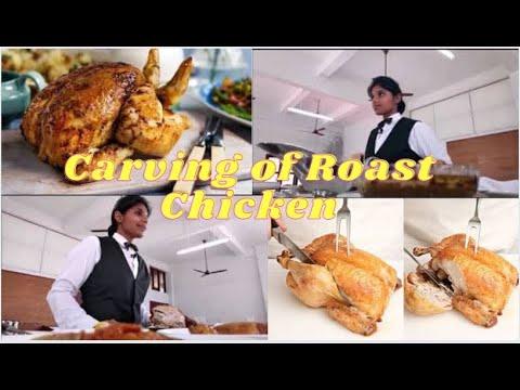 Gueridon Service - Roast Chicken, Practicals, SJIHMCT, Pala