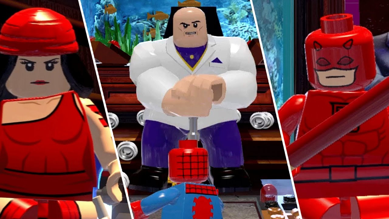 lego marvel super heroes extras 09 homemaranha vs rei