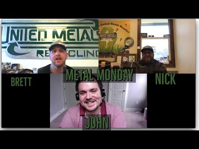 Metal Monday 4-20-20 John Betz with Argus Media