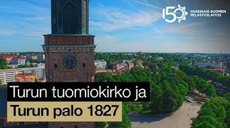 Turun tuomiokirkko ja Turun palo 1827