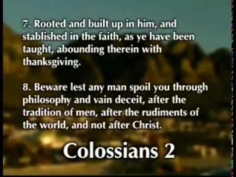 Family Radio Bible Reading Book of Colossians 1.mp4