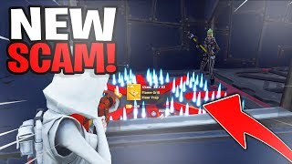 *NEW SCAM* Invisible Floor Trap Scam! Scammer Gets Exposed In Fortnite Save The World