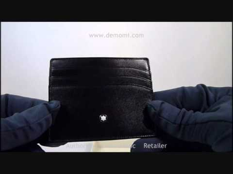 miglior sito web 7afce 063d4 MB 106653 montblanc credit card holder porta carte di credito review
