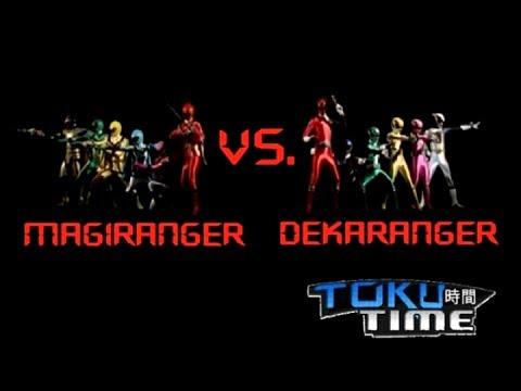 Toku Time: Magiranger vs. Dekaranger Review - YouTube