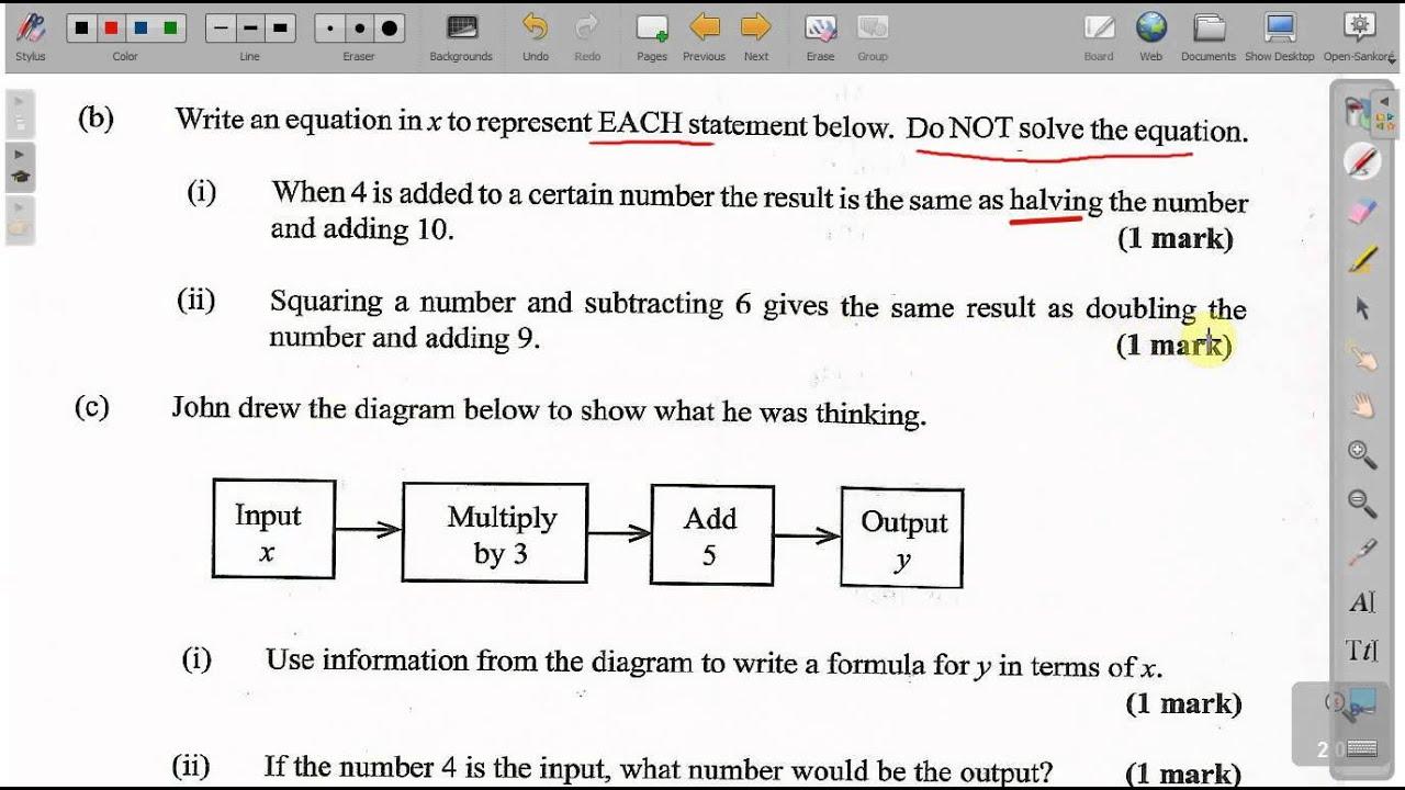 Cxc mathematics past papers 2014