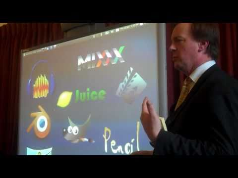David Wilmot talks about the use of Open Source drawing program Inkscape in his School