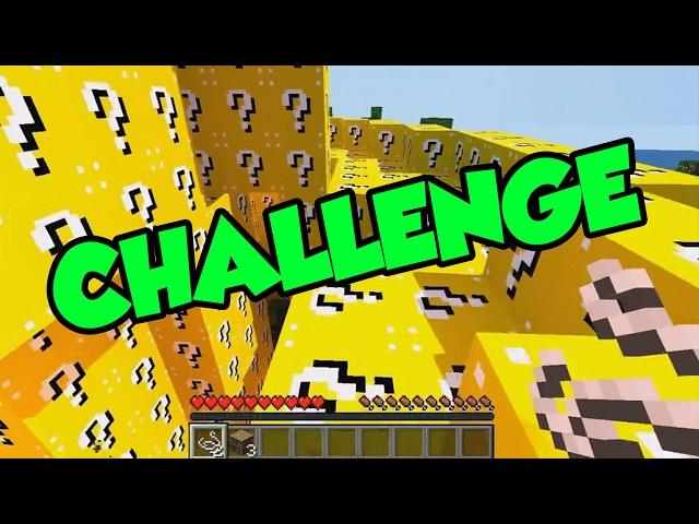 100 LUCKY BLOCK CHALLENGE!