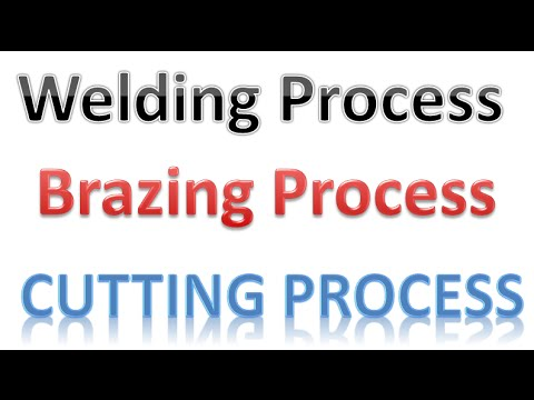 Welding Brazing Cutting Process