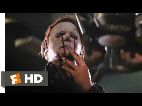 Halloween II (10/10) Movie CLIP - The Death of Michael Myers (1981) HD