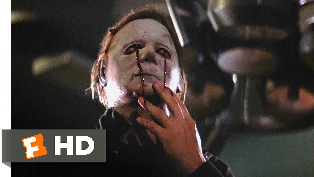 Halloween Ii 1010 Movie Clip - The Death Of Michael -4809