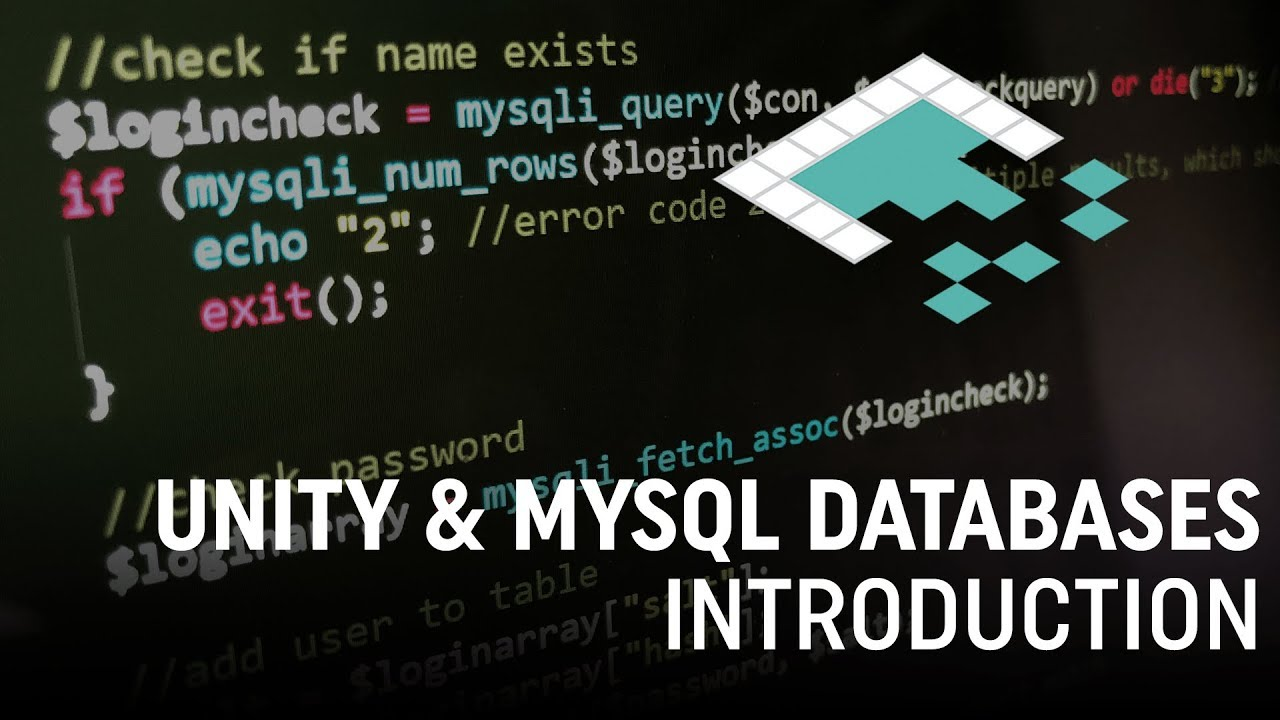 Databases in Unity with MySQL - Go Make Games Unity3D Tutorial