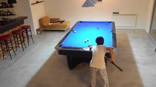 I Play On My New Pool Table