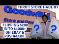 Thrift Store Haul #7: Fall Clothing To Resell On eBay & PoshMark | Tip Of The Day