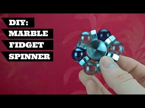 DIY Marble Fidget Toy Hand Spinner