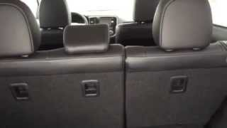 Mitsubishi Outlander 3rd Row and Cargo Space