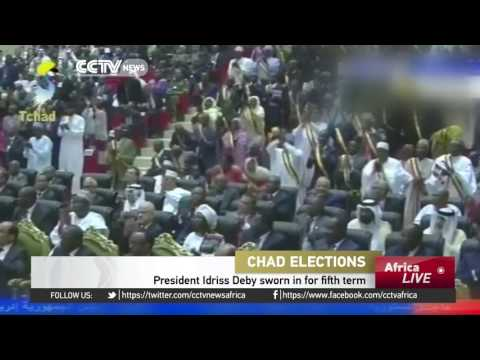 Chad's President Idriss Deby sworn in for fifth term