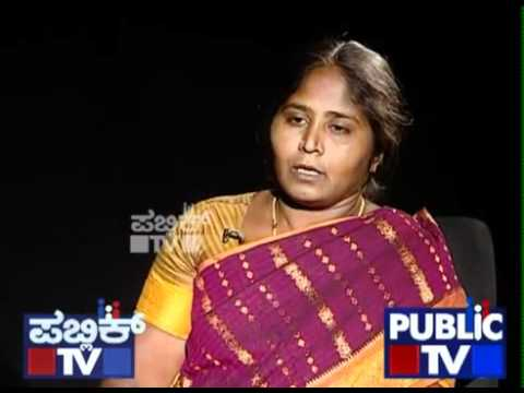 2 3   Interview with Veerappan's wife Muthulaxmi   Public TV f4v