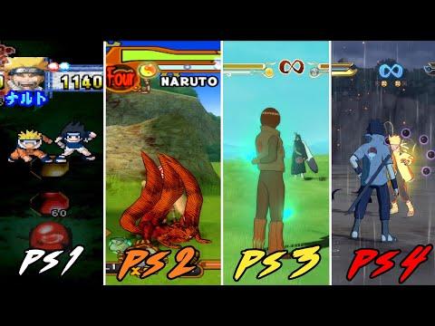 Evolusi Game Naruto di PLAYSTATION (PS1-PS4)