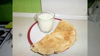 Блины на молоке тонкие пошаговый рецепт Вкусные блины