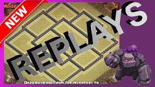 Replays Of The Royale Fort   Top Tier Th11 War Base! Anti Gowiwi   Clash Of Clans (CoC)