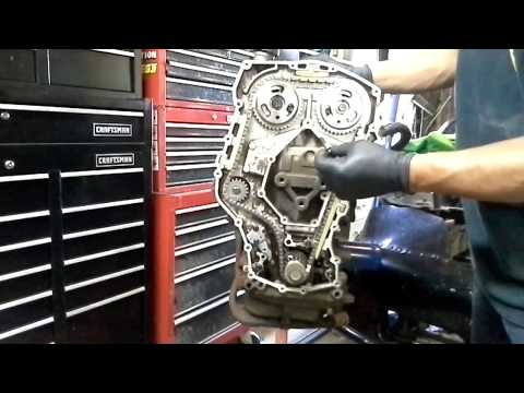 Quad 4 How to properly remove timing chain and gears