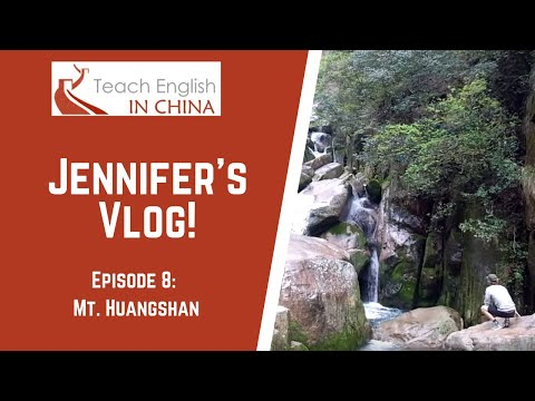 Month 8 in China: Mt. Huangshan