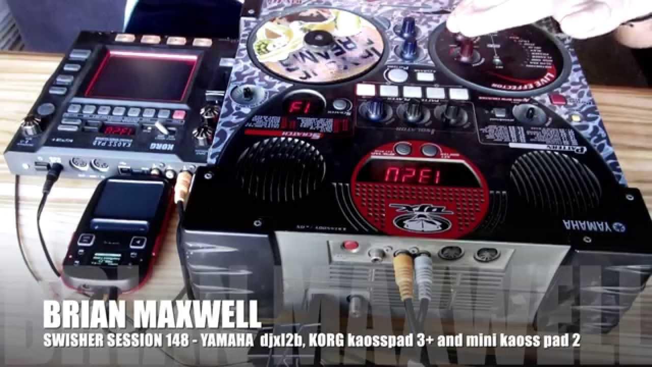 An Ii B B 148 Yamaha Djx Iib Korg Kaosspad 3 And Mini Kaosspad 2